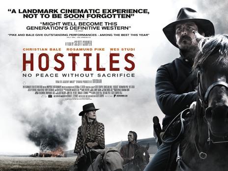 Hostiles film poster 1