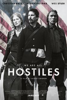 Hostiles film poster 2