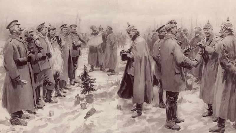 Why we love the 1914 Christmas truce story