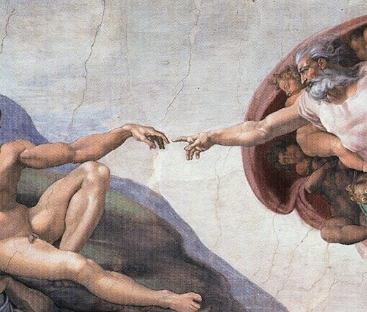 Pointing the finger at God – why are Michelangelo's willies so small?