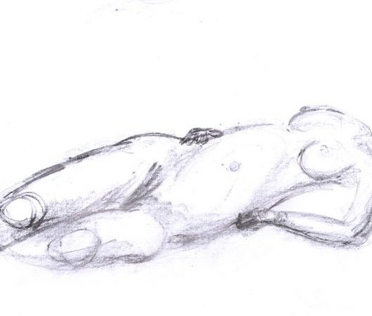 Life drawing – the light and shade of shame