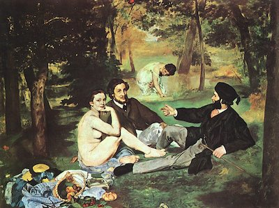 Luncheon on the Grass, painting by Edouard Manet
