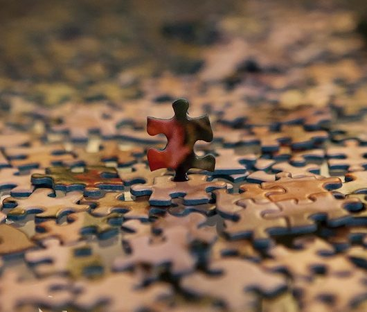 There is a you-shaped space in the jigsaw puzzle of the world