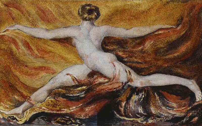 William Blake - Oh flames of furious desires