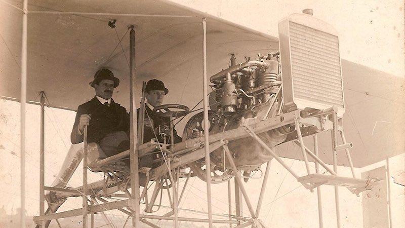 Living with ghosts - Blackburn-Walker Biplane, 1909