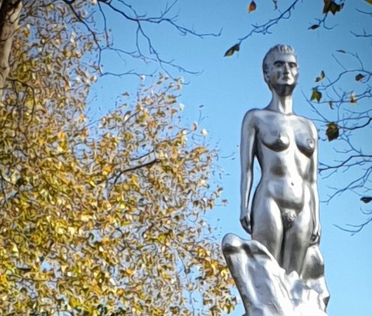 Mary Wollstonecraft statue highlights unconscious shame